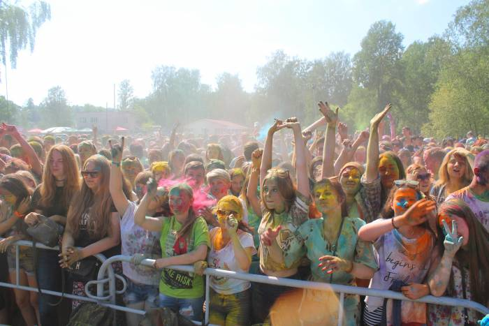 холи, фестиваль, витебск, краски