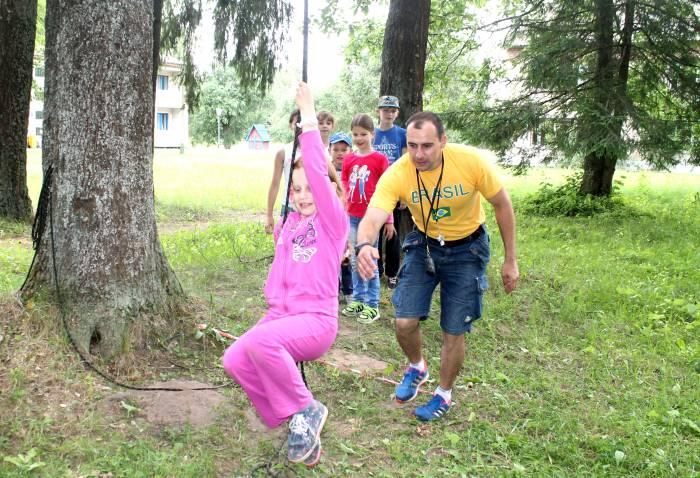 спорт, лагерь, дети, отдых