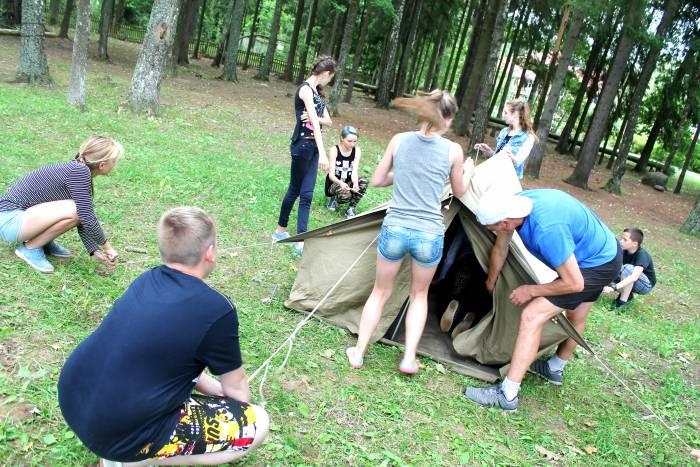 палатка, лето, лагерь