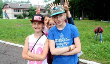 лето, дети, лагерь, отдых