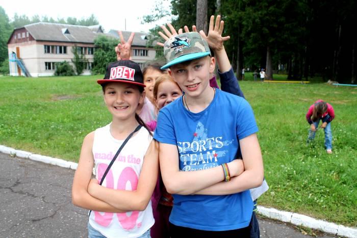 дети, лето, лагерь