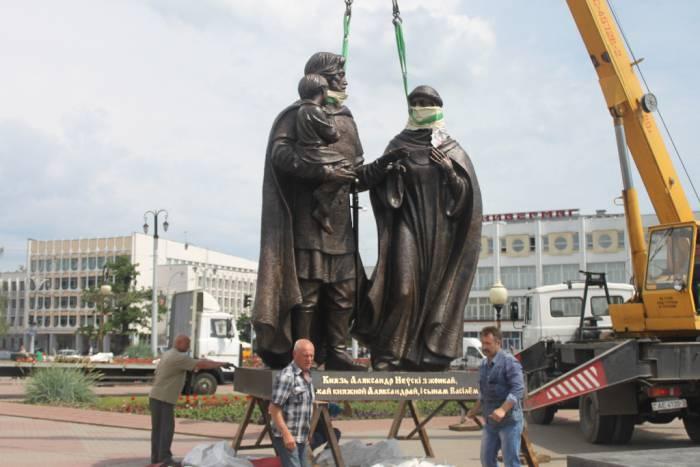 витебск, невский, открытие памятника