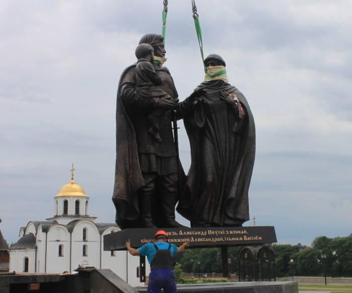 витбеск, невский, открытие памятника