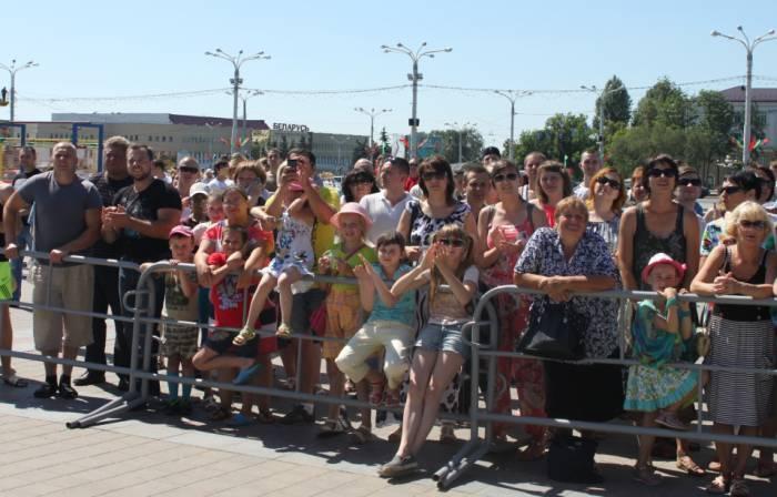 витебск, день города, спортивный праздник, люди
