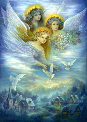 дом, уют, ангелы, астропрогноз, астрология, июнь, 2016, Корженевский
