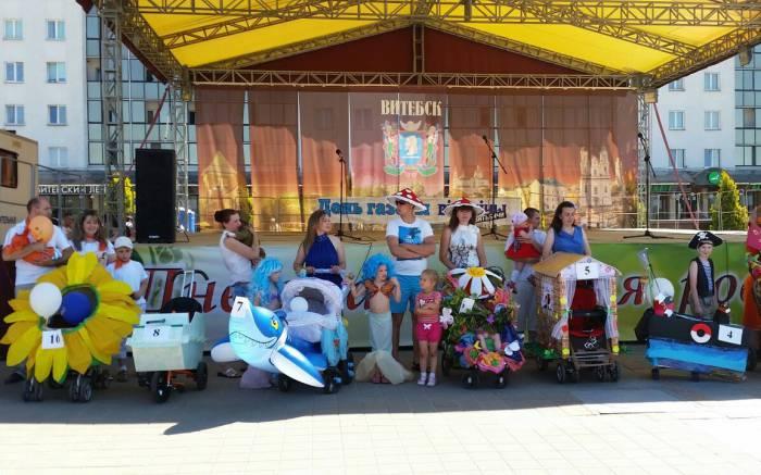 Победители конкурса колясок - 2016. Фото: Аля Покровская