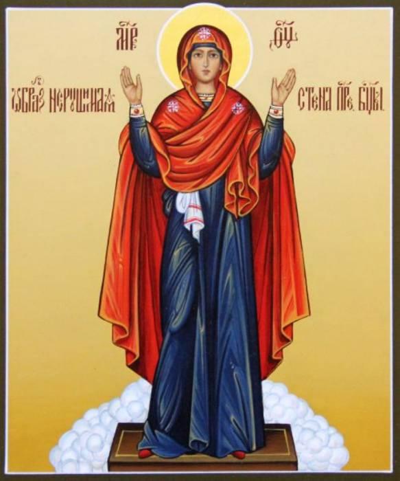 "Икона Божией Матери ""Нерушимая стена"". Фото put-k-bogu.ru"