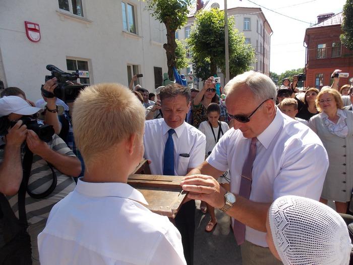 Шерстнев, Николайкин, Витебск, Шагал