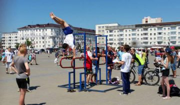 Витебские спортсмены-виртуозы. Фото: Аля Покровская