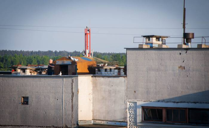 С крыши можно увидеть то, что скрыто от чужих глаз. Фото Анастасии Вереск
