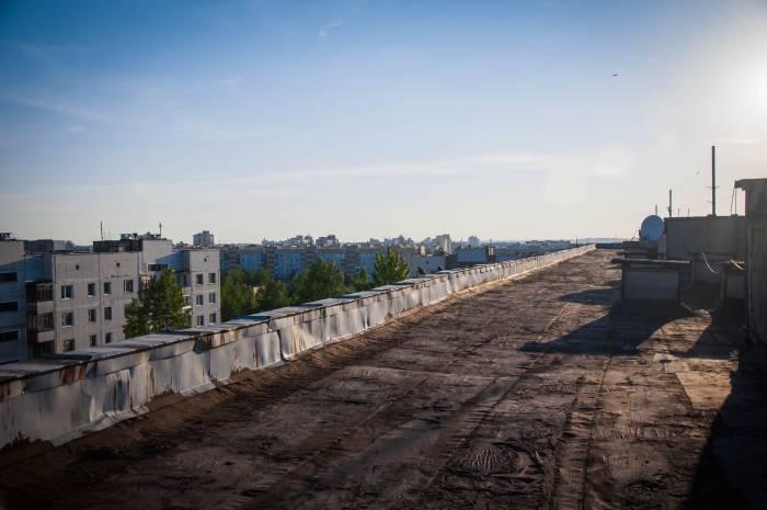 Крыша - это простор для действия. Фото Анастасии Вереск