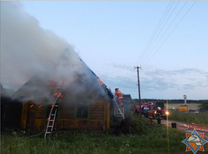Пожар Ушачский 1