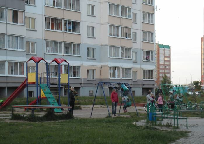витебск, дети, детская площадка