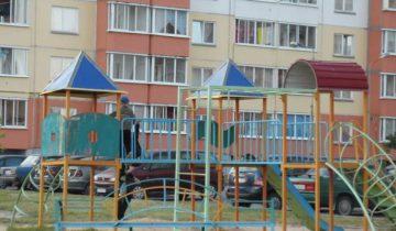 витебск, детские площадки