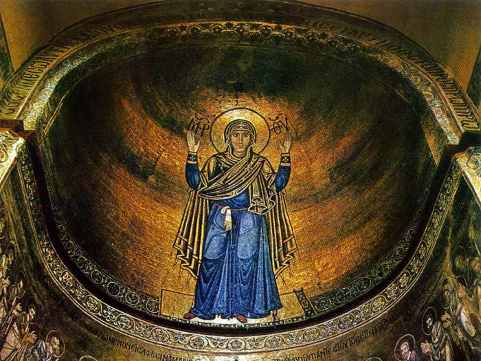 Икона Божией Матери в Киевской Софии. Фото krasivye-mesta.ru