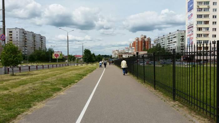 И пешеходы топают по своему усмотрению. Фото: Аля Покровская