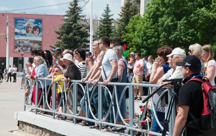 Жители Новолукомль. Фото Анастасии Вереск