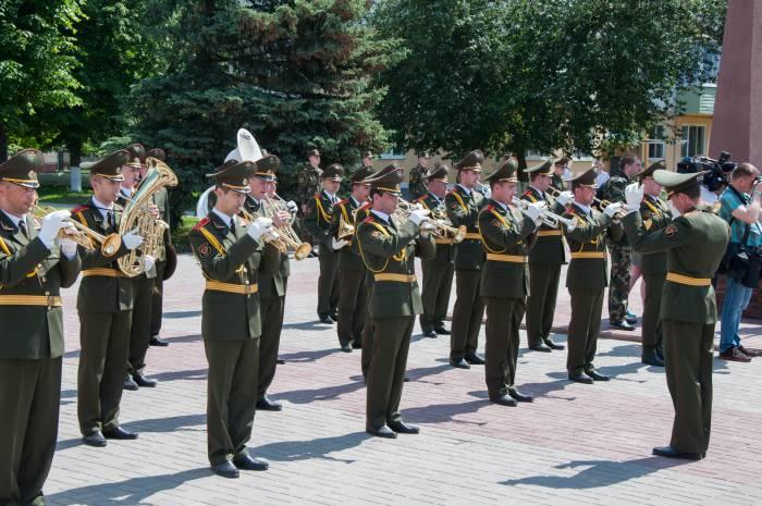 Военный оркестр. Фото Анастасии Вереск