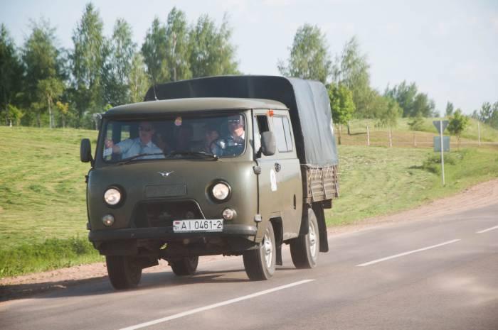 Участники военных учений покидают город. Фото Анастасии Вереск