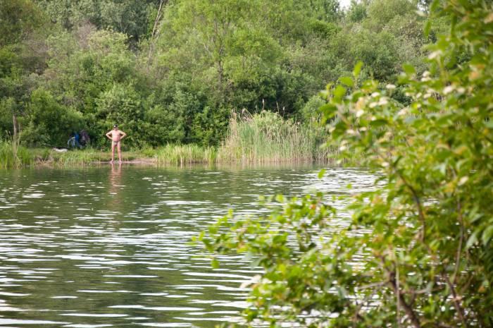 Лето - это озеро... Фото Анастасии Вереск