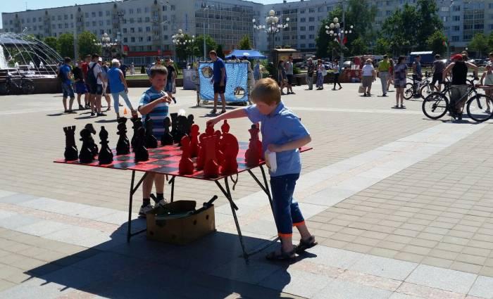 Шахматные гении Витебска. Фото: Аля Покровская