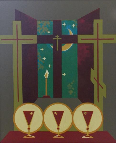 Счастный, христианство, живопись, Деды, экуменизм, Корженевский