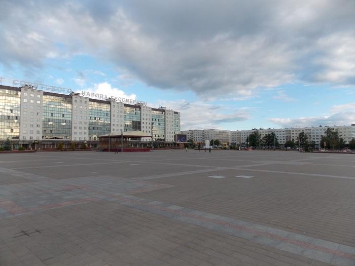 Витебск, площадь, Корженевский