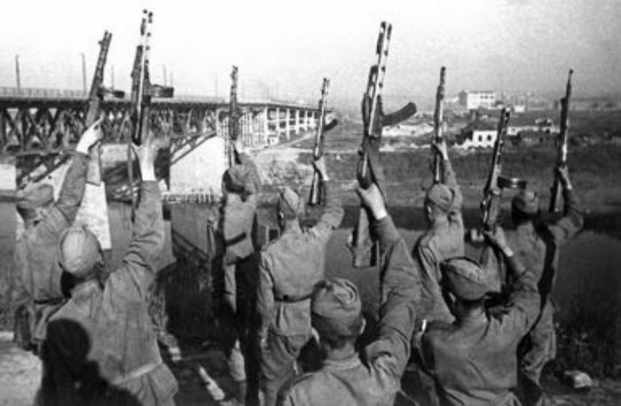 Витебск, освобождение, Победа, Корженевский