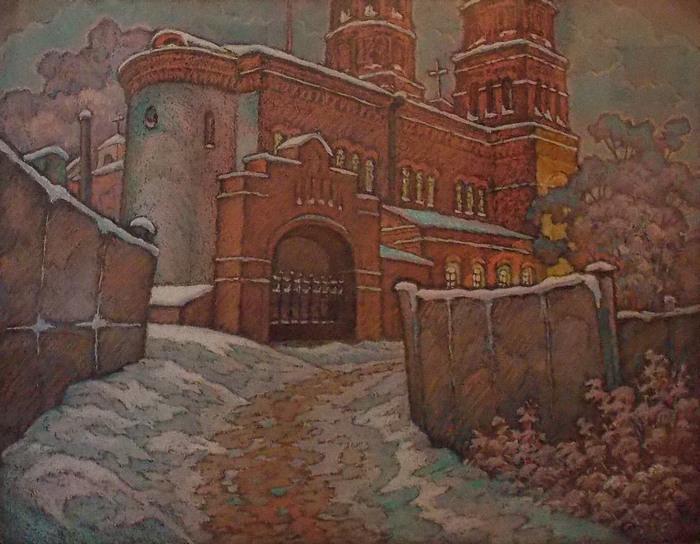 Шамшур, живопись, Витебск, костел