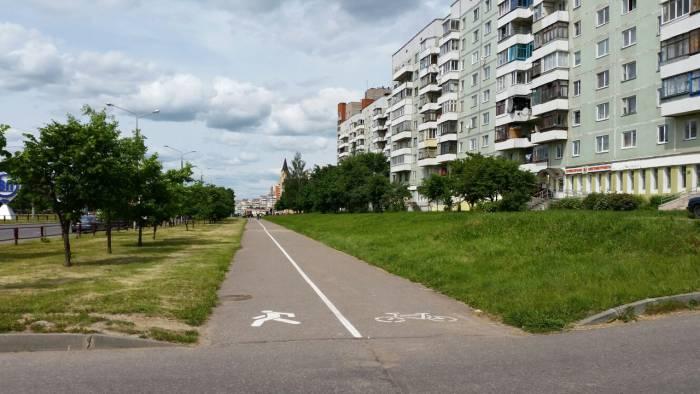 Подарок для витебских велосипедистов уже в доступе! Фото: Аля Покровская