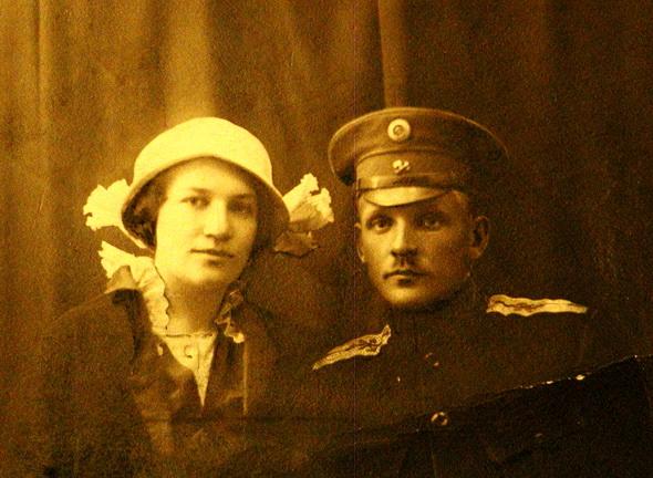 Иван Луцевич с женой. Фото tio.by