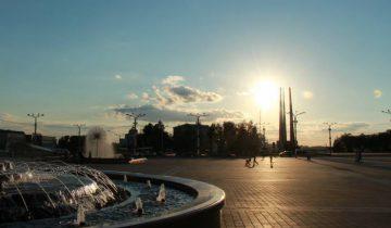 Площадь Победы. Фото: Виктория Тарасевич