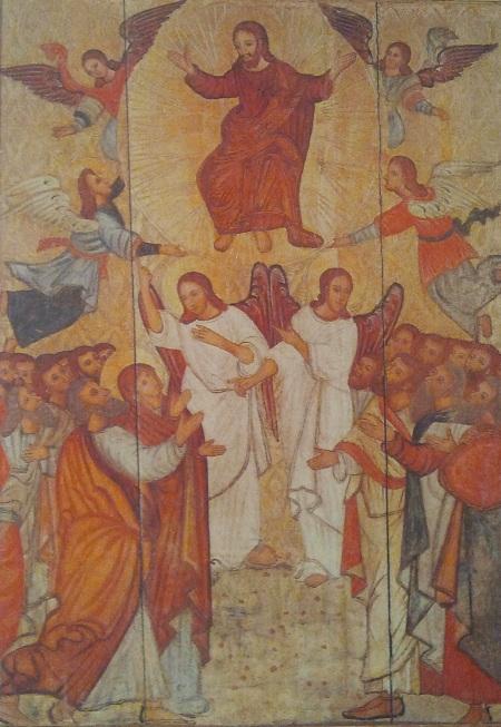 икона Вознесение, слуцк