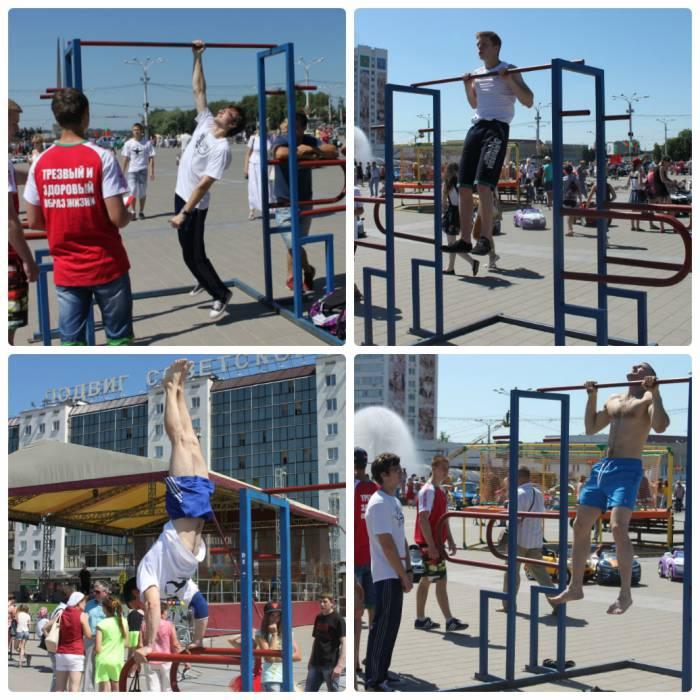 витебск, день города, спортивный праздник