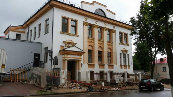 Витебское народное художественное училище еще ремонтируется. Когда откроется - точно неизвестно. Фото: Аля покровская