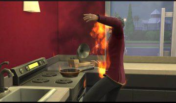 пожар на кухне 3