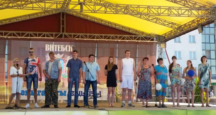 Витебские великаны - 2016 в полном составе. Фото: Аля Покровская