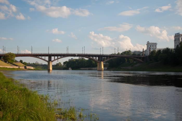 Западная Двина в 2016 году. Фото Анастасии Вереск