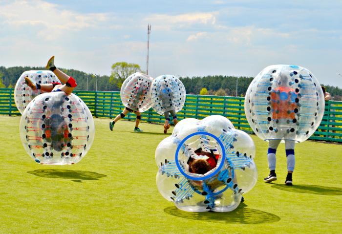В бампербол могут играть как парни, так и девушки. Фото из личного архива Александра Хилевича