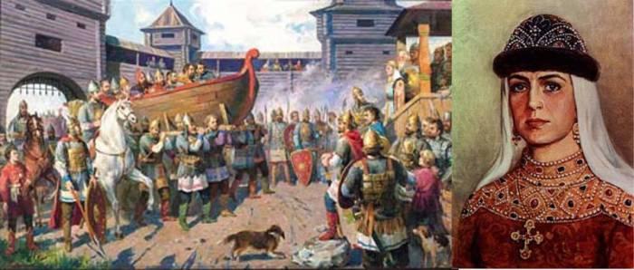 Месть Ольги древлянам. Фото rowalan-freezet.ru