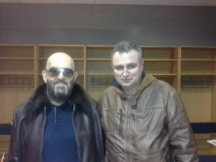 Эксклюзивное фото. Михаил Шуфутинский и Павел Левинов