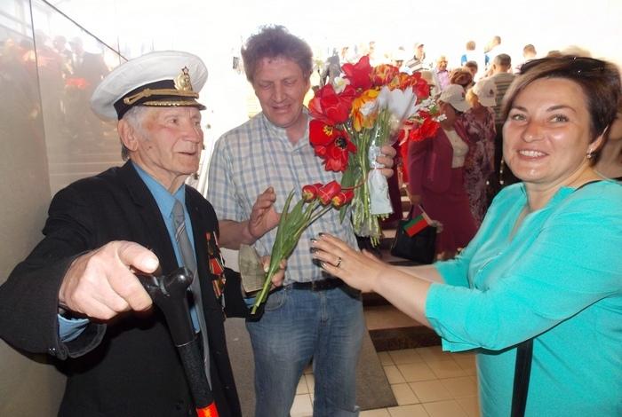 Лагода, Витебск, победа