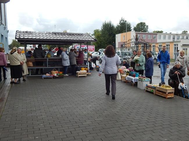 На стихийных рынках ягоды продавать выгоднее, нежели сдавать скупщикам. Фото Евгении Москвиной
