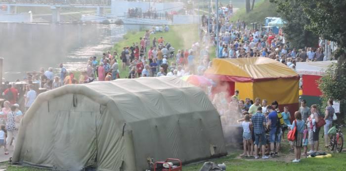 витебск, праздник мчс, пойма реки Витьба