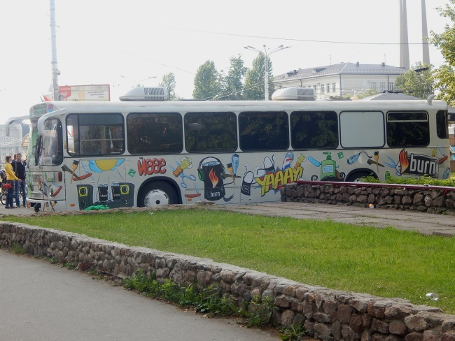 dandy bus, парикмахерская