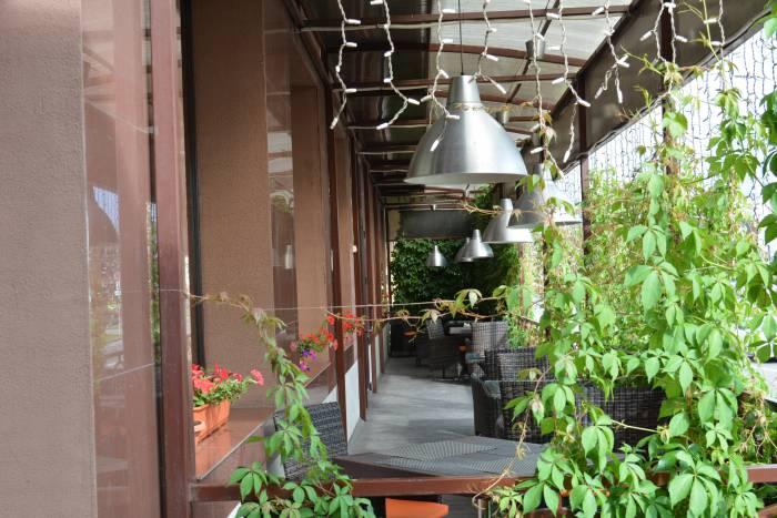 Терраса ресторана Викторя
