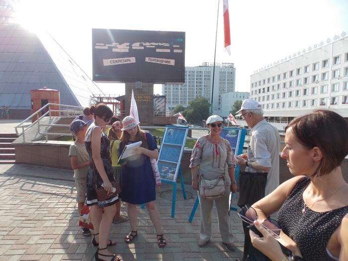 Витебск, пикет, оппозиция, Северинец, Шабуня
