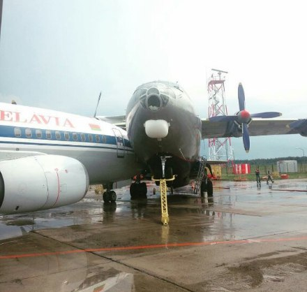 Фото с сайта vk.com. Национальный аэропорт города Минска.
