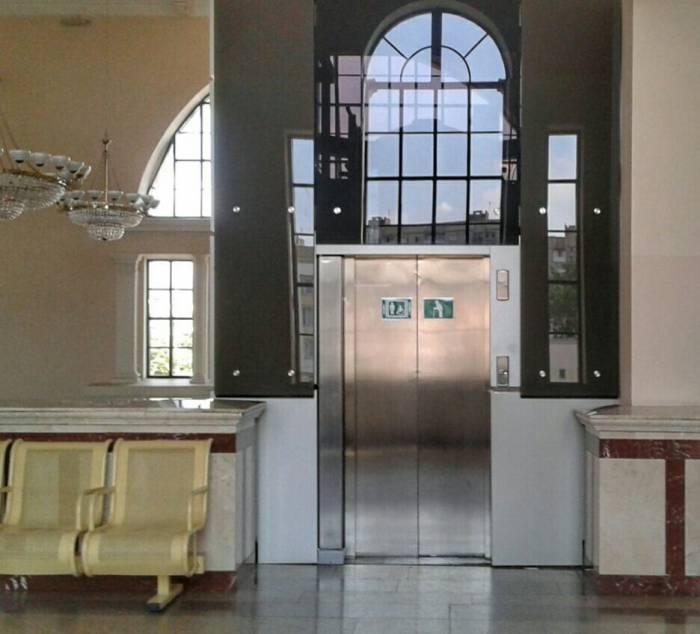 Лифт, вокзал, Витебск