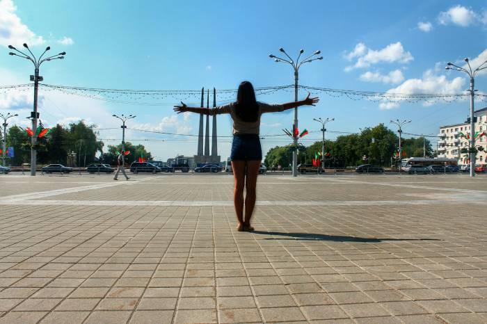 Площадь Победы,Витебск